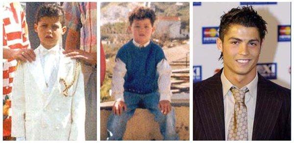 Как взрослел Роналдо...